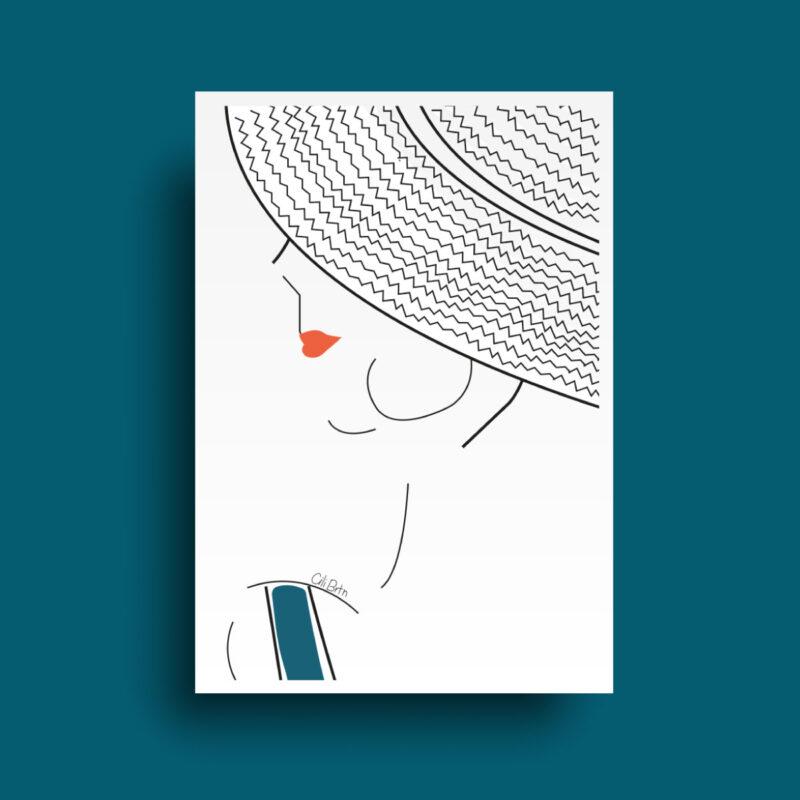 Affiche collection Print bain de soleil