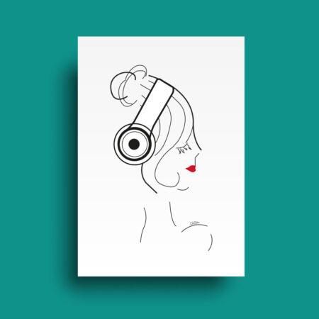 Affiche collection Print Musique
