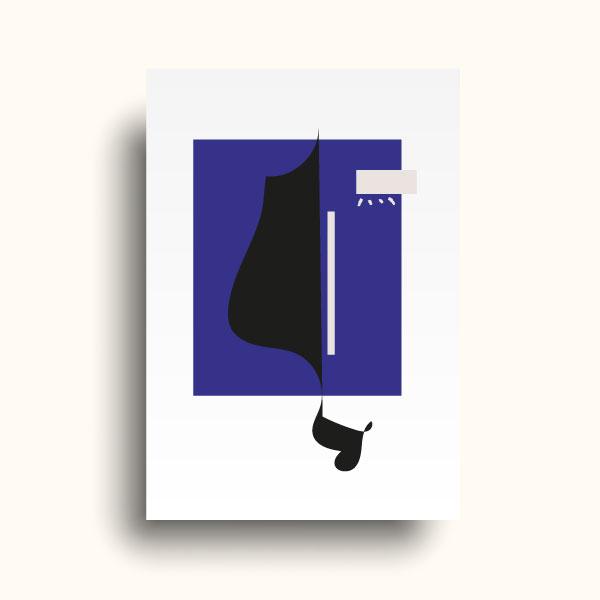 Illustration encadrée Nuit Blanche collection Jour-Nuit
