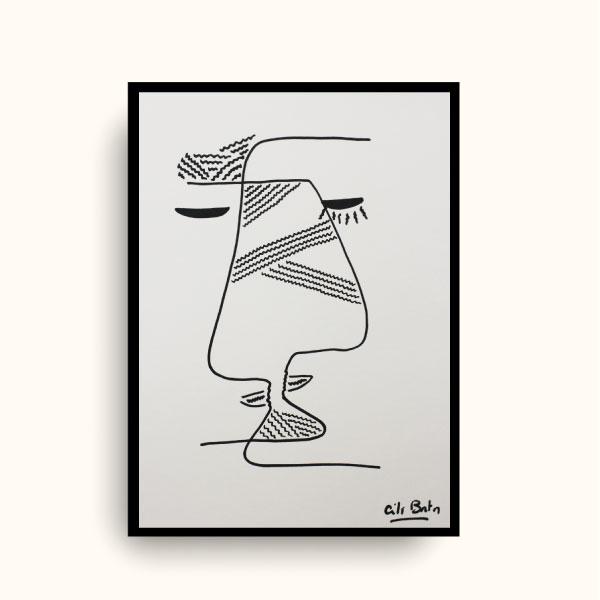 on s'embrasse dessin original